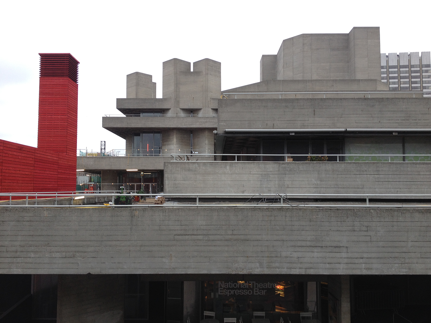 Royal National Theatre London Postwar Concrete Postscript