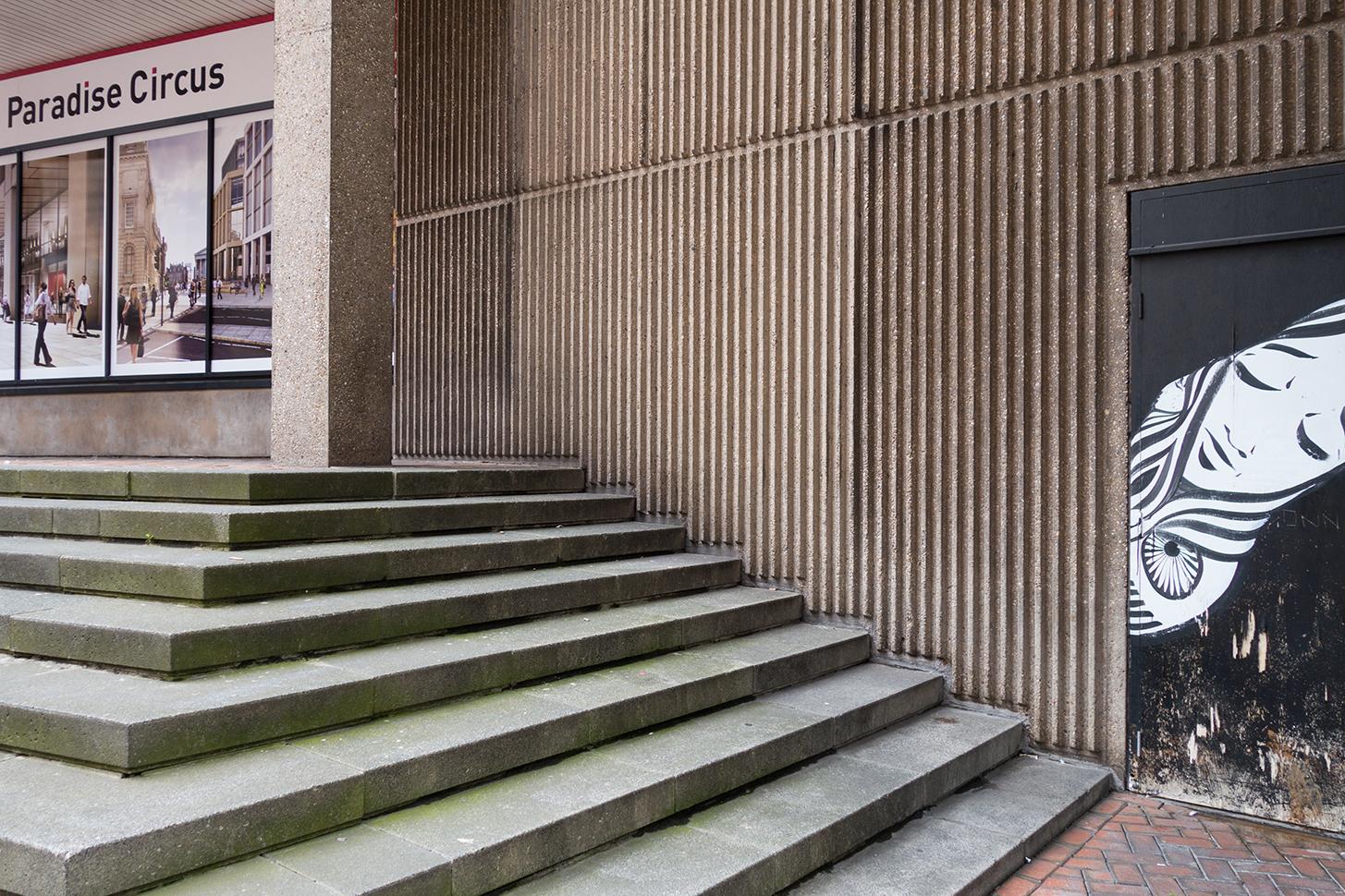 Birmingham Central Library Birmingham Postwar Concrete