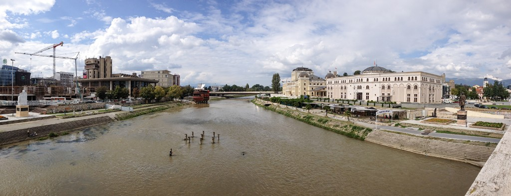 Skopje 2014 Panorama